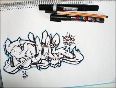 Pics photos graffiti alphabet letters art 5